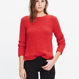 MADEWELL Hexcomb Texture Sweater small